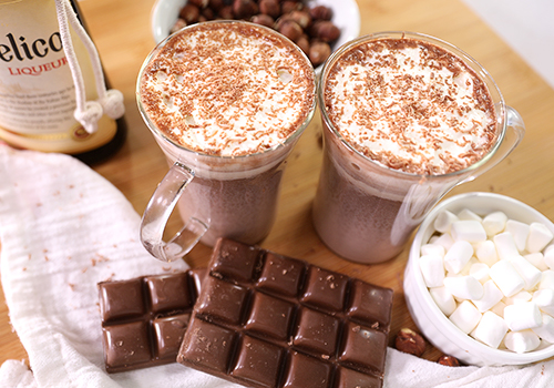 Naughty Nutella Hot Chocolate Recipe