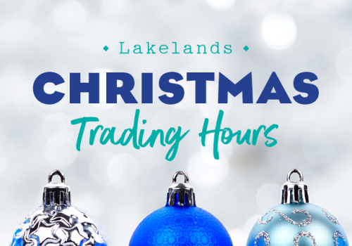 Extended Trading Hours this Christmas