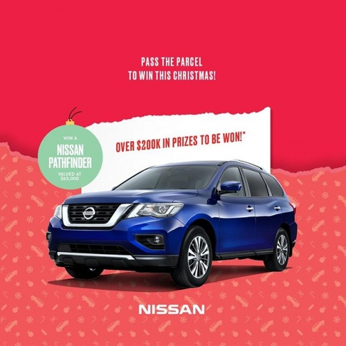 All I want for Christmas is…a brand new @NissanAustralia Pathfinder 🚗Join us this festive season in centre and you could win! With daily instant prizes and more, it's truly the season to be jolly!