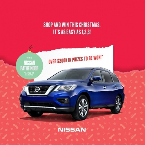 Play pass the parcel with us this Christmas! 📦We're giving away a brand new @NissanAustralia Pathfinder and thousands of daily prizes valued at over $200k. Simply head to our website to find out how you could win!