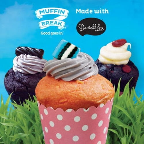 Happy International Liquorice day! @muffinbreak are celebrating with @darrelllea to bring you three new muffins with an exciting liquorice theme! Which one will you choose? 😍 . . . #muffins #liquorice #easter #darrelllea #muffinbreak #lakelands #lakelandsshopping #byISPT
