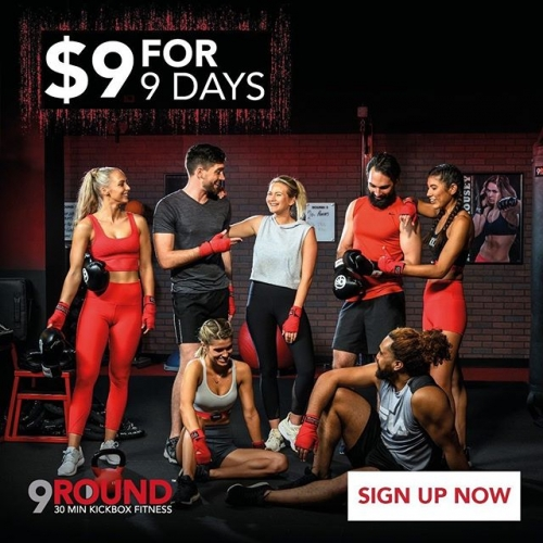 $9 For 9 Days!!! @9roundlakelands 🙌 Pay just $9 for 9 days training at 9round, including personal trainers every session!! No need to book, just turn up at your own convenience, and enjoy a new workout every day!! 🙌💪 Jump over to @9roundlakelands to enquire today! . . . #9round #9roundstrong #fitspo #lovelakelands #lovemandurah #lakelands  #fit #fitness #strong