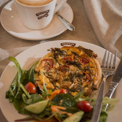 The weekly grocery run can take it out of you. Fuel up to keep up with @muffinbreak mouthwatering selection of sweet and savoury goodies. . . . #brunch #breakfast #breakfastinspo #lakelands #lakelandsshoppingcentre #muffinbreak #byISPT