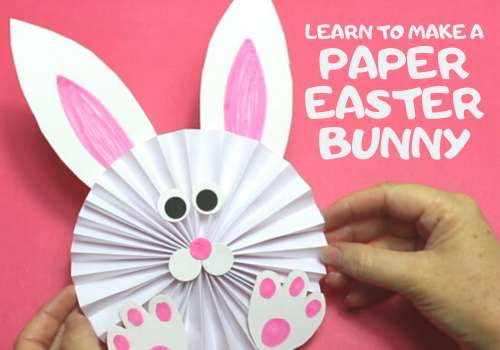 Learn How To Make A Paper Bunny