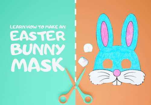Learn How To Make An Easter Bunny Mask